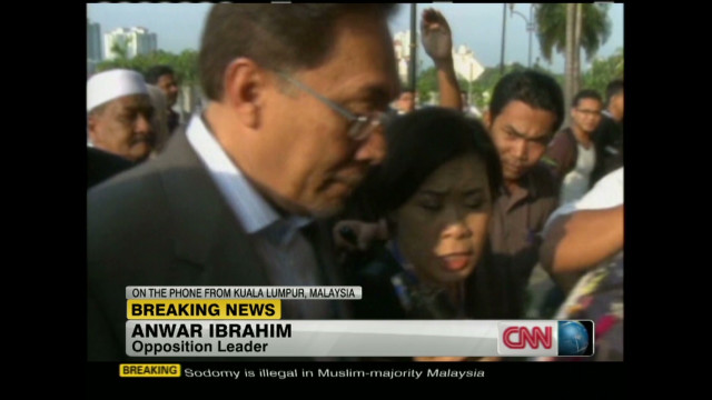2012: Anwar Ibrahim on acquittal