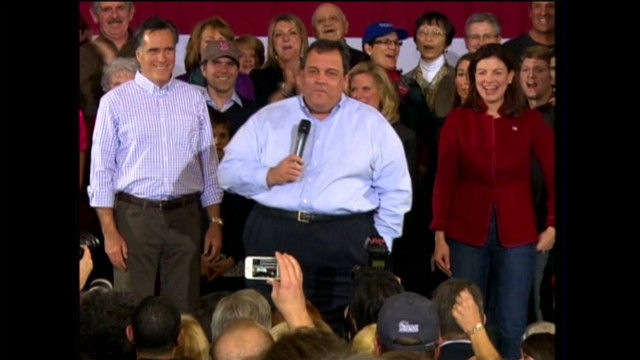 Christie 'sweetheart' retort cheered