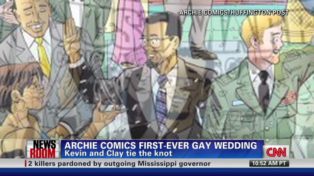 Archie Comics' first-ever gay wedding