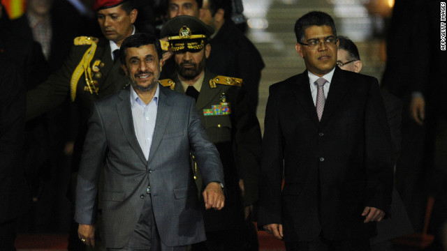 Amanpour: Ahmadinejad's goals for trip
