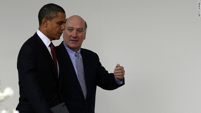 President Obama and his chief of staff, Bill Daley on December 14.