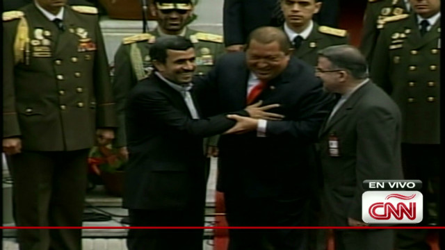 chavez venezuela welcomes Ahmadineyad_00001421
