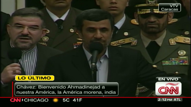 ahmadinejad venezuela speech _00010112