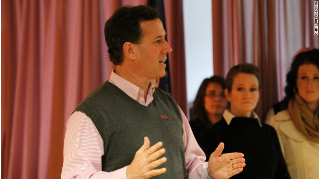 Santorum: I'm always told I can't win