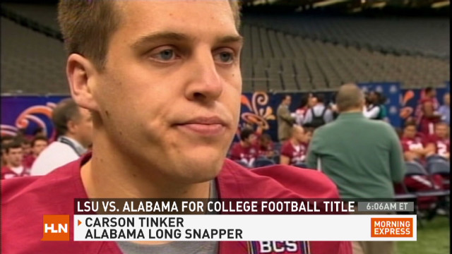 Tuscaloosa tornado survivor plays in BCS
