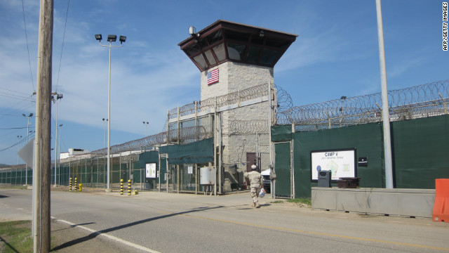 The U.S. prison at Guantanamo Bay, Cuba.