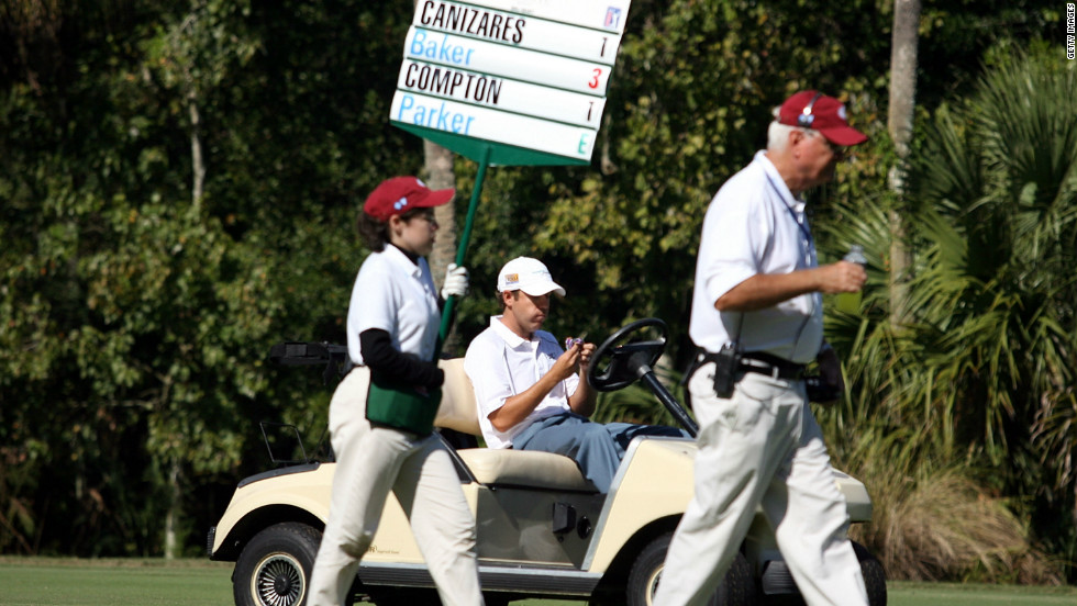 Just five months after surgery, Compton was back playing competitive golf, tying for 60th in a PGA Tour event. But he had to get special dispensation from the authorities to get around the course in a golf cart.