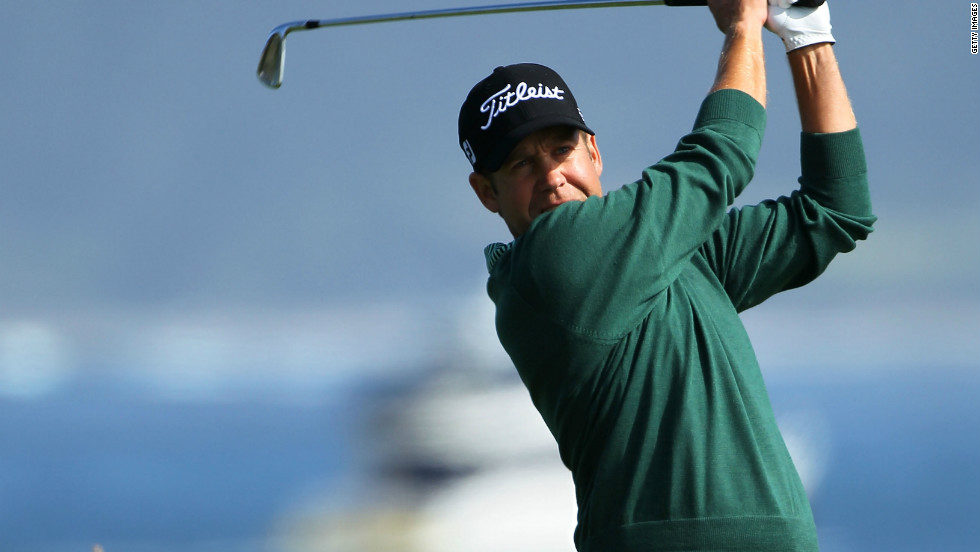 """Compton says golf has helped him to live the life he has: """"It's given me a reason to get out of my bed so it's been very important. I'm very blessed to have a passion and an ability. Golf has kept me alive, there's no doubt about it."""""""