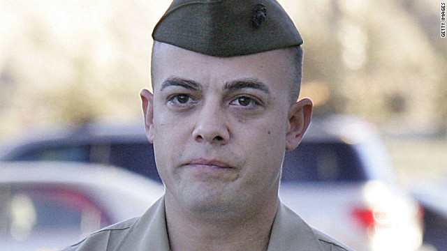 Staff Sgt. Frank Wuterich pleaded guilty to one count of negligent dereliction of duty Monday. He was sentenced Tuesday.