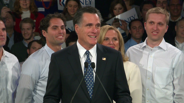 Romney: 'Tonight we made history'