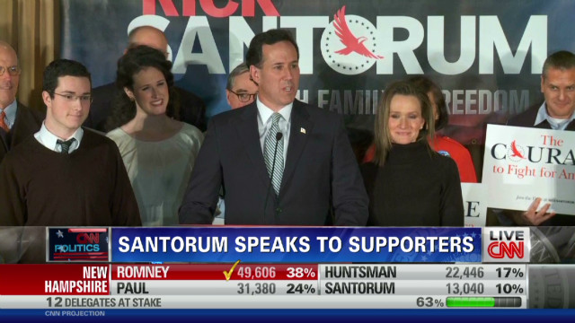 Santorum: Let's defeat Obama
