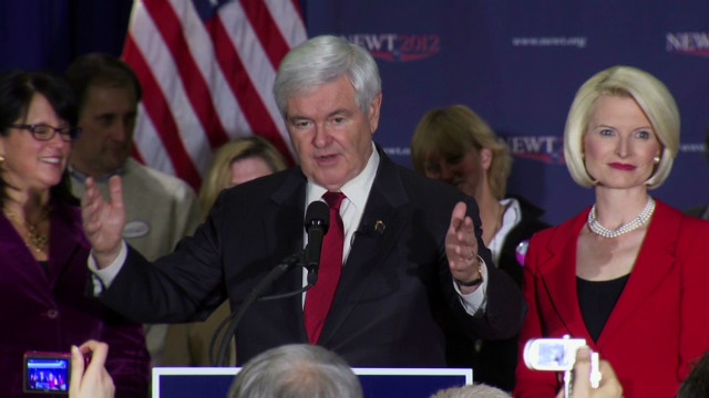 Gingrich: Let me be your spokesperson