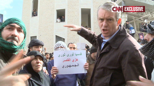 CNN exclusive: Inside a divided Syria
