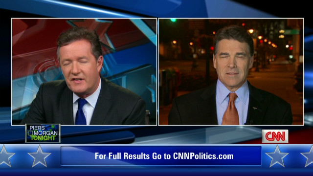 Perry: Attacks doing Romney a favor