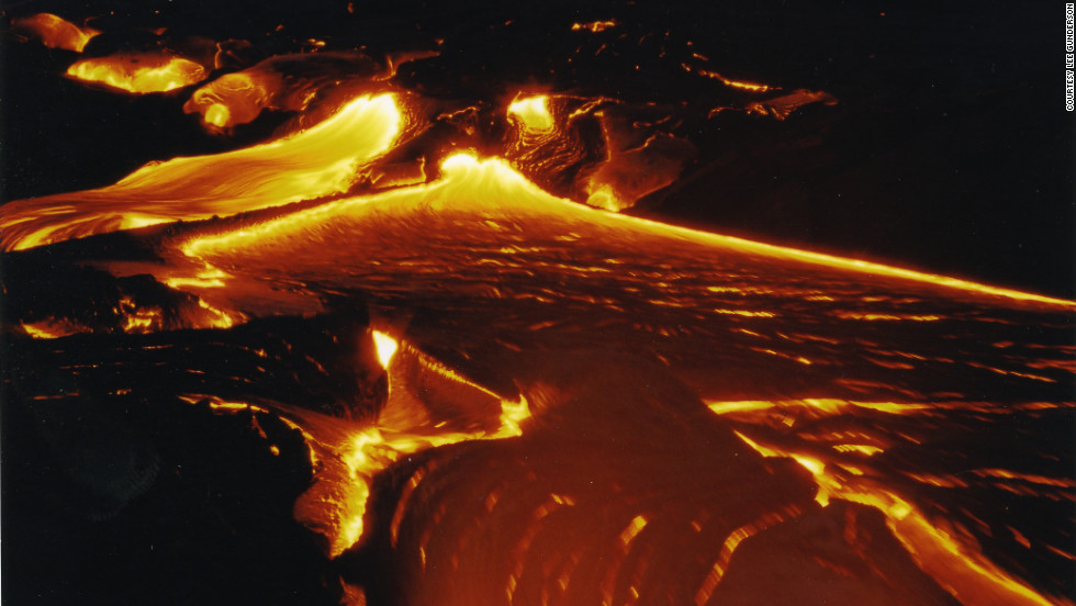 "Lee Gunderson, an iReport contributor, used Kodak Gold to capture this erupting volcano in 2002. ""I love Kodak Gold and Ektachrome 100 for the deep reds and golds,"" he said."