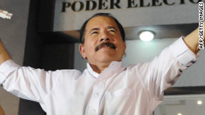 Nicaraguan President Daniel Ortega seeks his fourth overall presidential term, which would be his third consecutive.