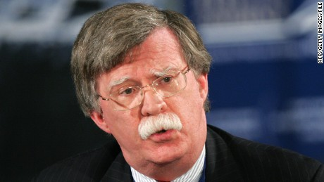 John Bolton, former U.S. ambassador to the United Nations,  as pictured on January 2008