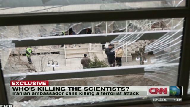 Nuclear scientist killed in Tehran