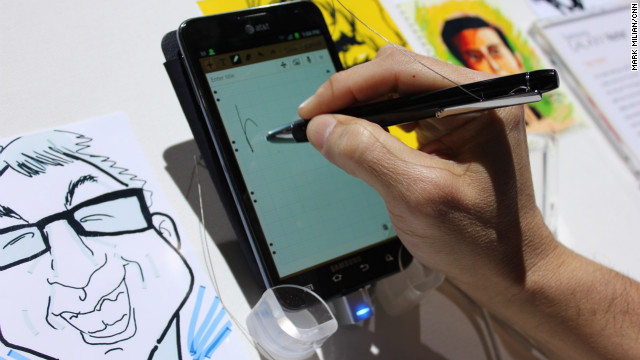 Samsung's Galaxy Note for AT&T is one of about a dozen new 4G LTE smartphones announced at CES.