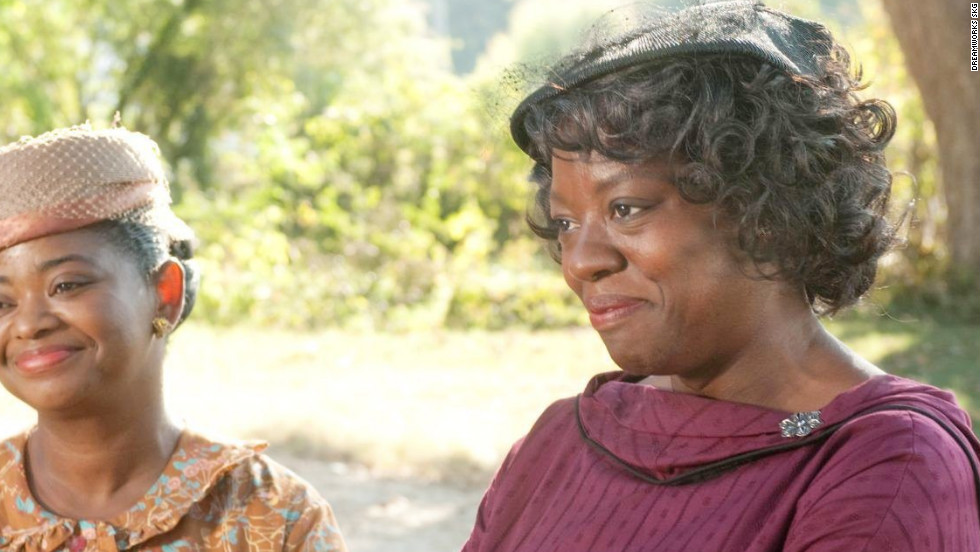 "Tate Taylor's ""The Help,"" based on Kathryn Stockett's novel, stars Emma Stone as an aspiring writer in the 1960s. Stone's character writes a book from the point of view of African-American maids, played by Viola Davis and Octavia Spencer."