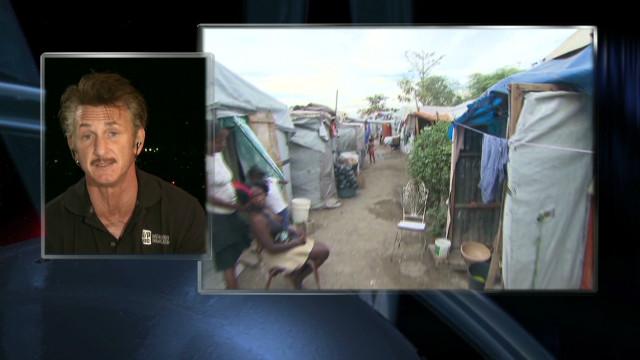 Sean Penn on his work in Haiti