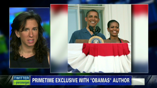 Author explains controversial Obama book