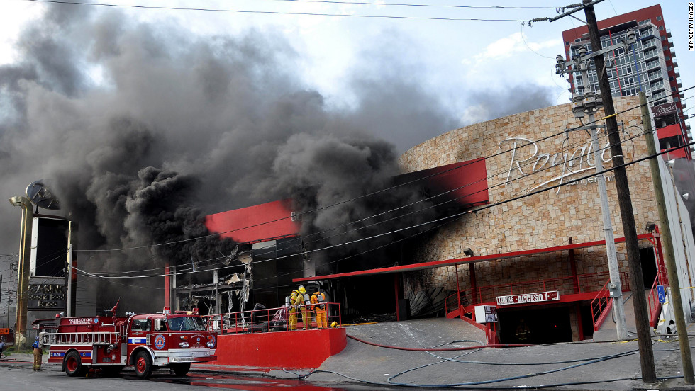 The Zetas cartel was blamed for setting fire to the Casino Royale in Monterrey, Mexico, in August 2011. That attack killed 52 people.