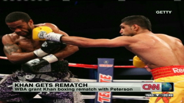 Khan and Peterson set for boxing rematch
