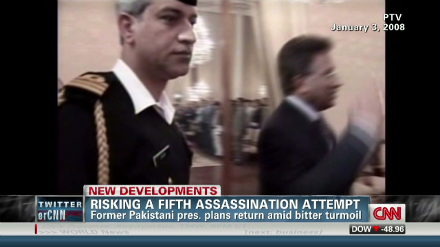 Musharraf plans return