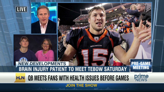 how to meet tim tebow