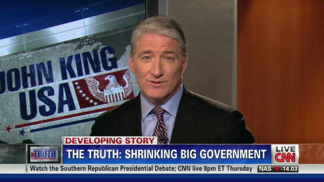 The Truth: Shrinking big government