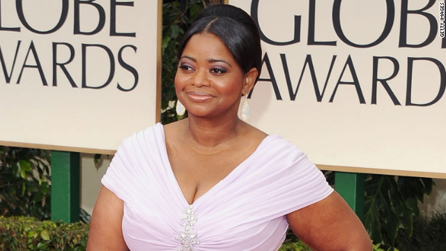 "The award for best supporting actress in a film went to Octavia Spencer who played a maid in the Civil Rights era movie ""The Help."""