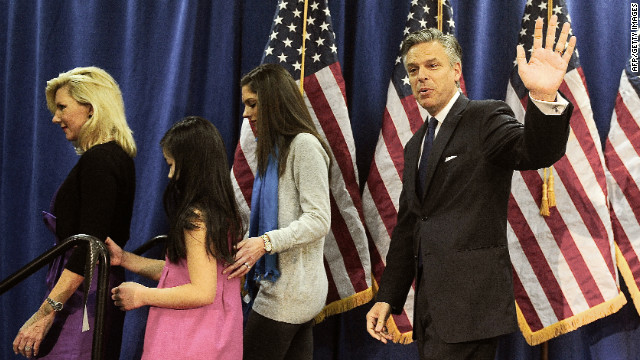 Huntsman pulls out of race