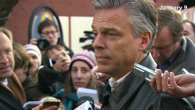Huntsman's history of attacks on Romney