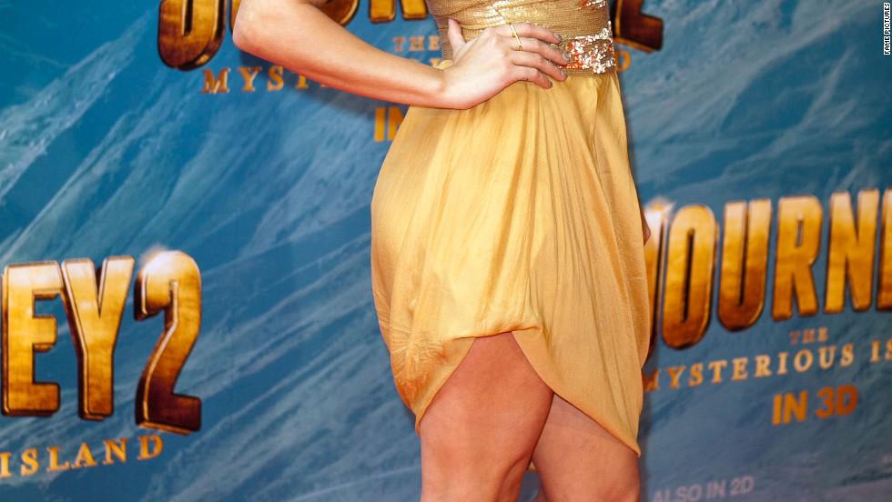 Vanessa Hudgens attends a movie premiere in Melbourne, Australia.