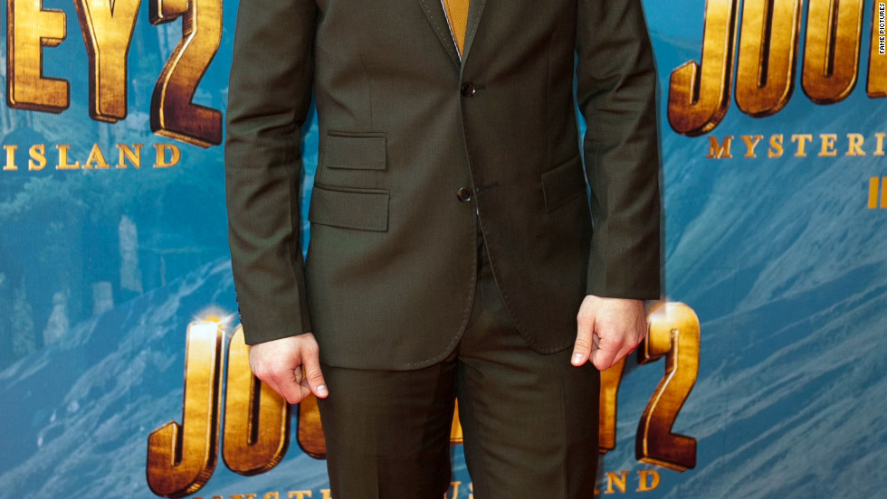 Josh Hutcherson attends a movie premiere in Melbourne, Australia.