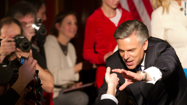 The conventional wisdom is Jon Huntsman was unnecessarily confrontational toward conservatives early on, says Dan Schnur.