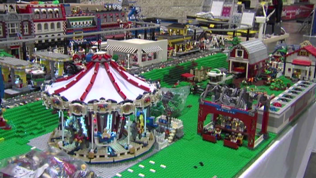 Imaginations go wild at LEGO convention
