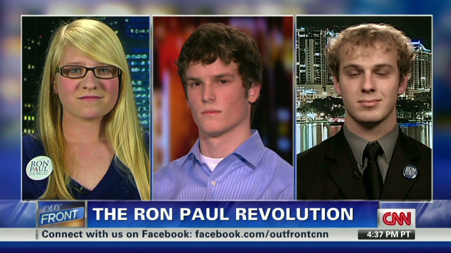 Students explain Ron Paul phenomenon