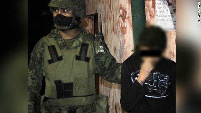 A 14-year-old boy was found guilty last year of torturing and beheading at least four people for the South Pacific drug cartel.