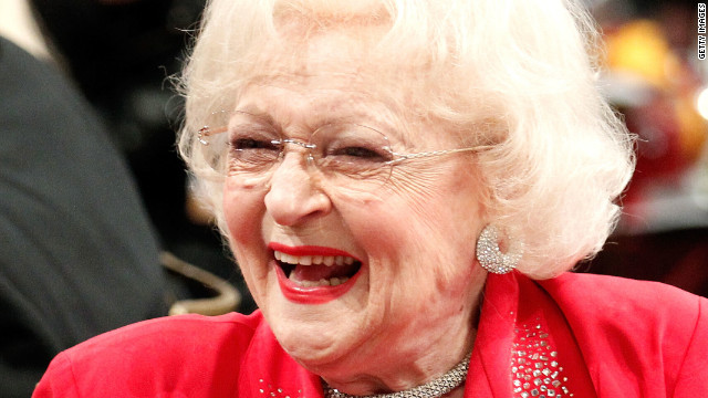 Betty White and her greatest moment