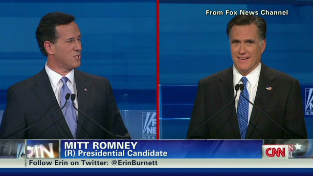 GOP candidates take aim at Mitt Romney