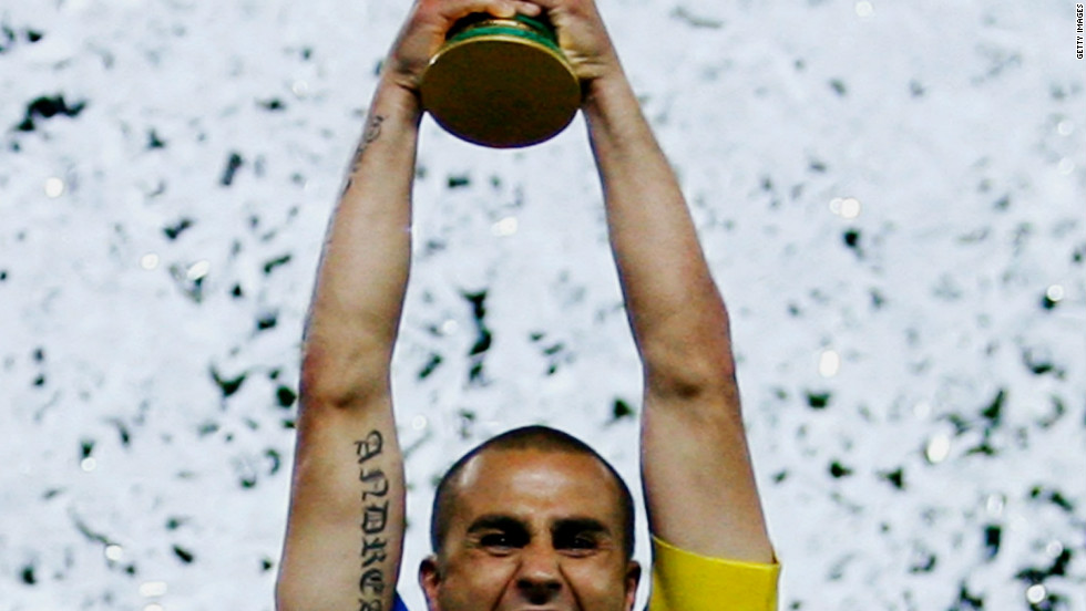 Fabio Cannavaro lifted the World Cup as Italy captain in 2006. He won two Spanish league titles with Real Madrid and also played for Italian giants Internazionale and Juventus.