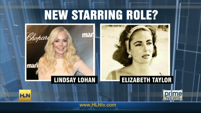 Lohan wants to play Liz Taylor in film