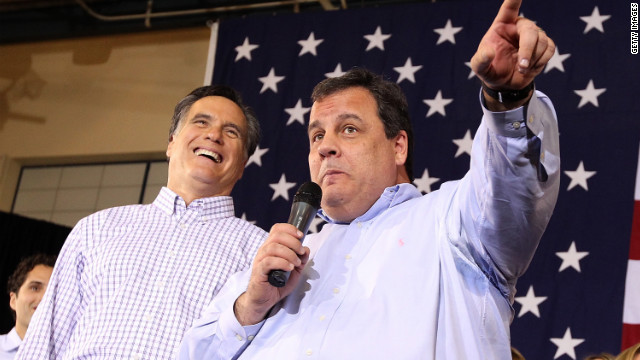 New Jersey Gov. Chris Christie, a Republican superstar, landed the plum speaking spot at the GOP convention.