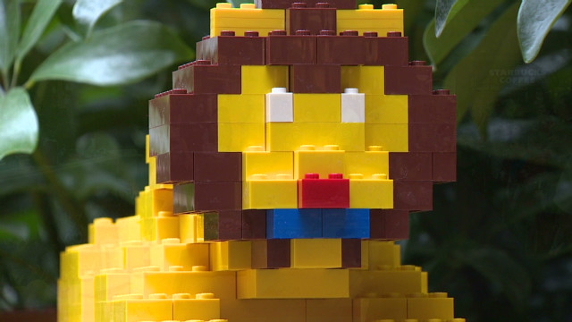 Building a future with LEGO bricks