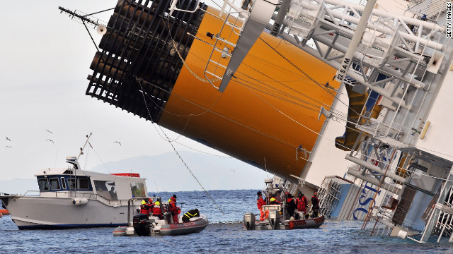 At least 11 people have died since the Costa Concordia ran aground and capsized Friday off a Tuscan island.