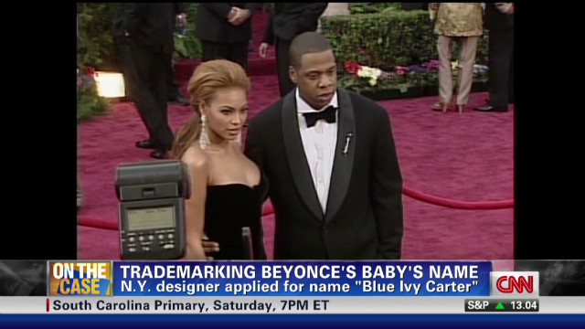 NR trademarking Beyonce's baby's name_00001305