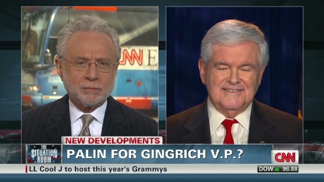 Palin For Gingrich V.P.?