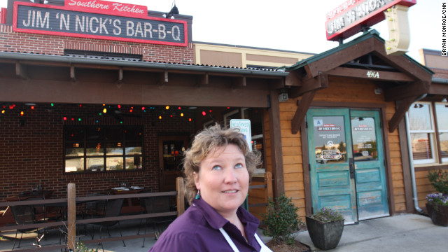 Jen Jones, the manager of Jim 'N Nick's Bar-B-Q in Charleston, has not decided who she'll vote for in the South Carolina primary.